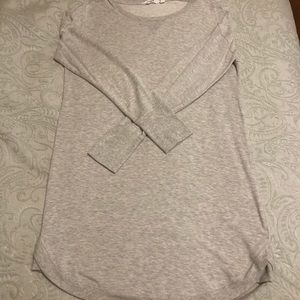 Athleta Recharge Dress 👗 💪 light Gray Heather L